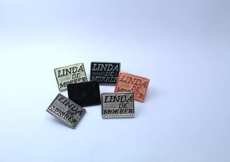 Acessório em Metal em Sp Preço Pacaembu - Puxadores e Etiquetas Emborrachadas para Confecção